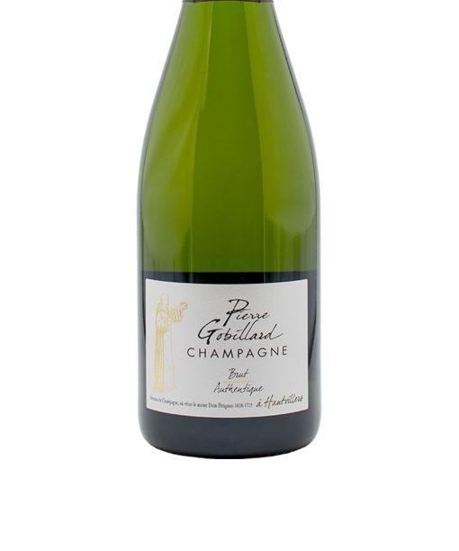 gob1 champagne brut authentique pierre gobillard etichetta