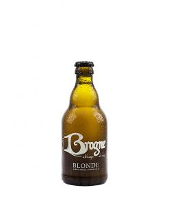 biere d'abbaye blonde biologique 33 cl brogne