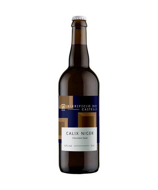 birra imperial stout calix niger 75 cl birrificio dei castelli
