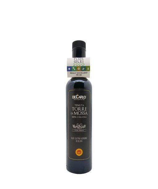 olio extra vergine di oliva dop torre di mossa (coratina) de carlo