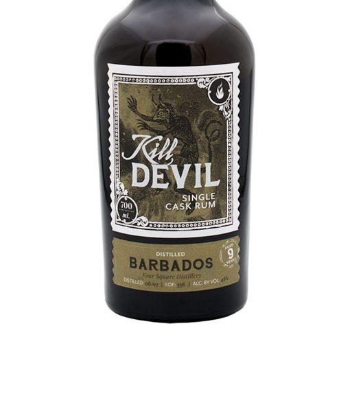 rum barbados foursquare 9 yo kill devil