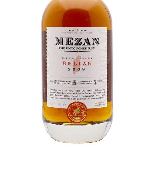 rhum belize 2008