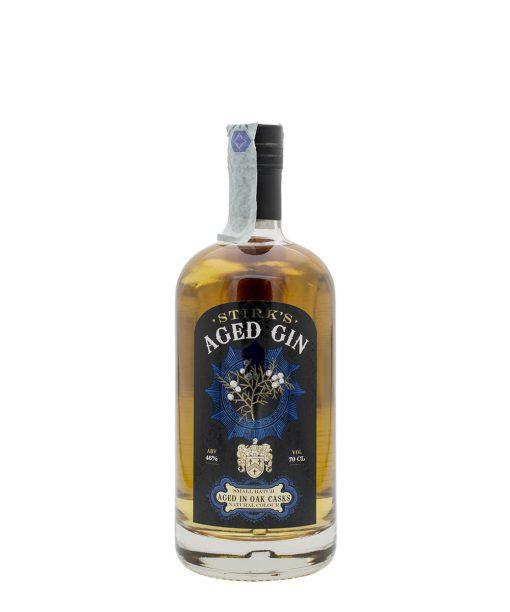 gin aged on whisky oak david stirk