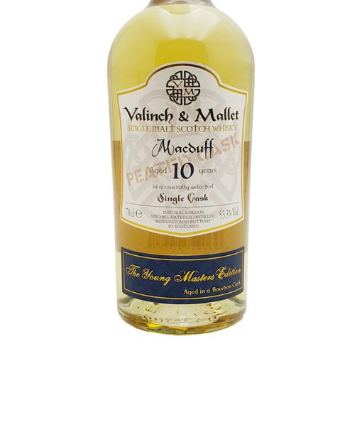 whisky macduff 10 y.o. valinch & mallet