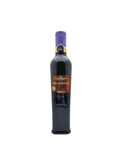 olio extra vergine di oliva colleruita dop 50 cl viola