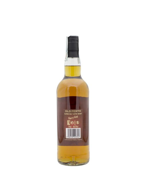 whisky blended sherry cask old perth