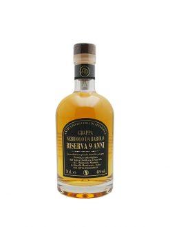 grappa barolo riserva 9 anni distilleria di alta villa