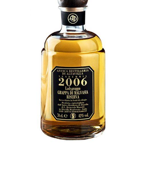 grappa riserva malvasia distilleria di altavilla