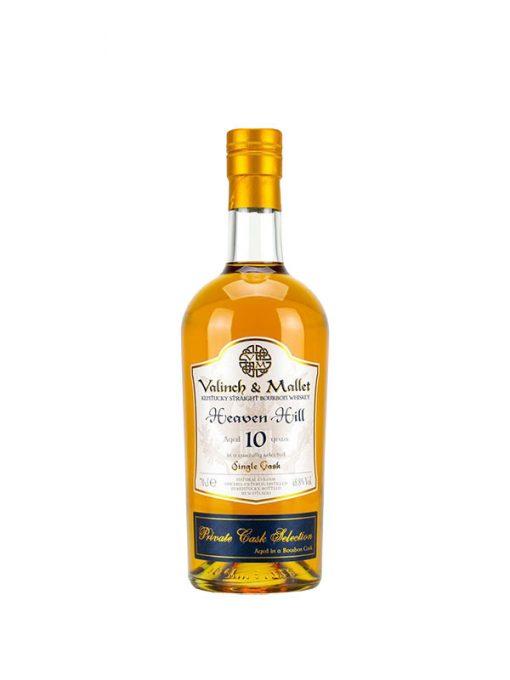 bourbon whiskey heaven hill 10 y.o. valinch & mallet