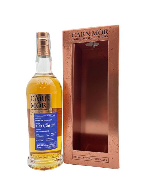 whisky clynelish 26 yo sherry càrn mòr
